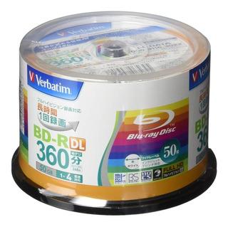 Bluray Verbatim Dual Layer 50gb Printable X 1 Disco