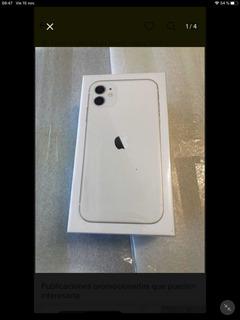 I-phone 11 Blanco De 128 Gb Nuevo En Caja Sellada