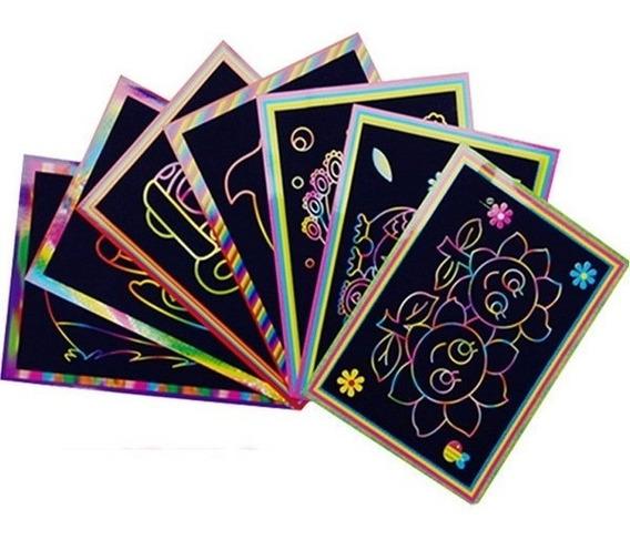 Papel Magico Off Paper A 4 Com Bastão 5 Folhas Frete Gratis