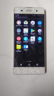 Celular Sony Xperia Xa1f3116 4g Dual Octa 16gb Tela Trincada