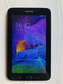 Tablet Samsung Galaxy Tab E 7 Impecable+funda+micro Sd 32gb