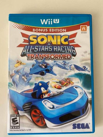 Jogo Wii U- Sonic & All-stars Racing Transformed