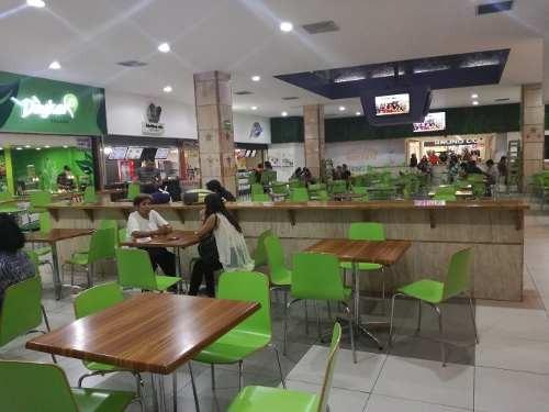 Local Para Fast Food En Plaza Comercial De Prestigio