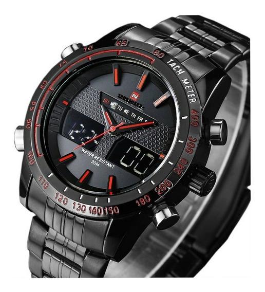 Relógio De Luxo Executivo Edição Especial Sport Gamer