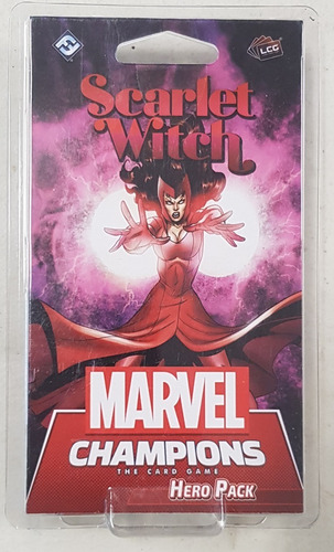 Marvel Champions Card Game Scarlet Witch Hero Pack Nuevo !!!