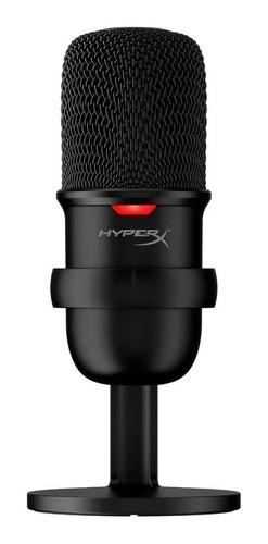 Imagen 1 de 3 de Micrófono HyperX SoloCast condensador  cardioide negro
