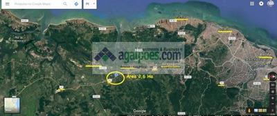 Área 26.000 M² (2,6 Ha) Às Margens Da Rodovia Br 101 Em Igarassu - Pe - 1337
