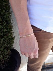 Pulseira Masculina Banhada A Ouro 18k 5mm Cartier Promoção