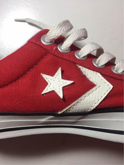 Zapatillas Converse Rojas Sin Uso Talle 41