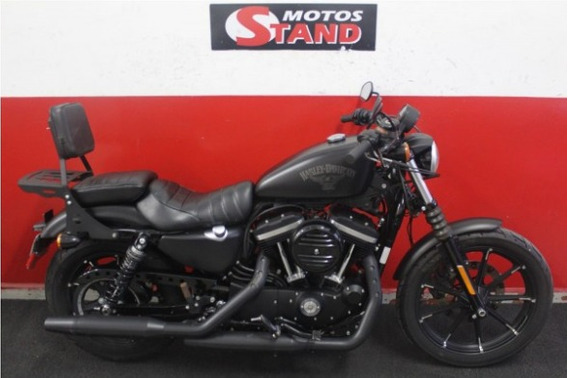 Harley Davidson Sportster Xl 883 N Iron Abs 2016 Preta Preto