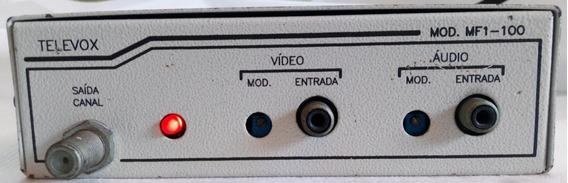 Modulador De Canal De Rf Televox Mf1-100