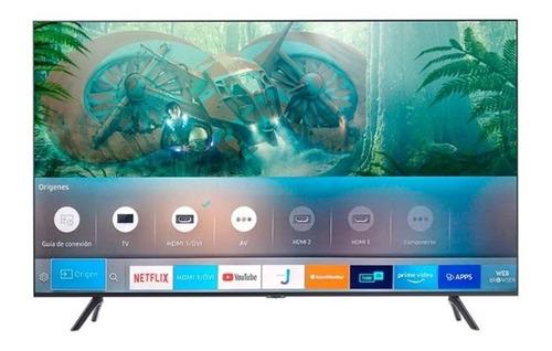 Imagen 1 de 4 de Televisor Samsung Crystal Uhd 55 Pulgadas