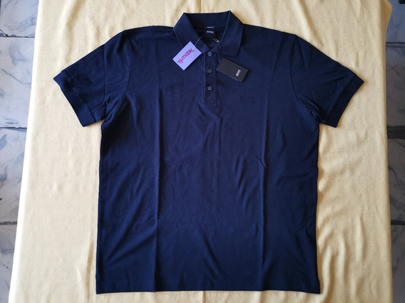 Camisa Polo Hugo Boss Talla Grande O Xl Color Negro Original