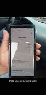 Samsung Note9 Poco Uso