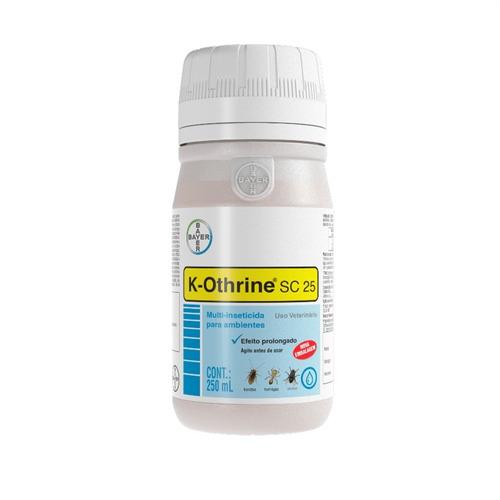 Inseticida K-othrine Sc 25 250ml Para Moscas Baratas Formiga