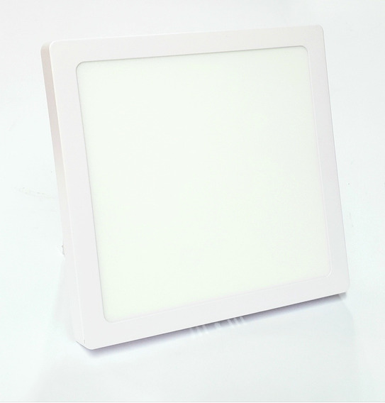 Painel Led 18w Quadrado Sobrepor Branco 6500k 210x210mm