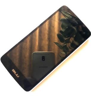 Celular Blu D210l Defeito Para Retirar Peças Não Funciona