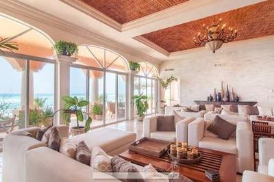 Asombroso Penthouse Frente Al Mar En Venta En Puerto Aventuras