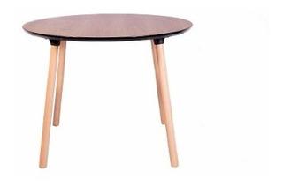 Mesa Redonda De Living Comedor Diseño Nordico - Prestigio