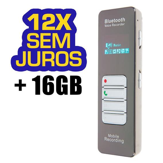 Gravador Telefonico Mini Som Portatil Aparelhos De Escuta