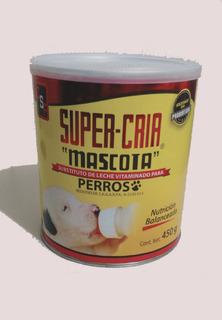 Sustituto De Leche Vitaminado Super Cría Para Perro