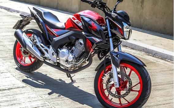 Cb Twister 250f Cbs Honda