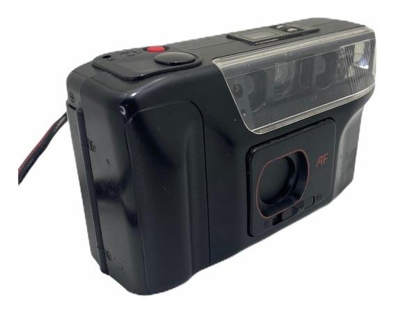 Câmera Analógica Antiga Yashica Funcionando Kodak Canon