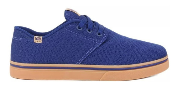 Tênis Hocks Skate Del Mar Originals Azul Royal Mesh Sonora
