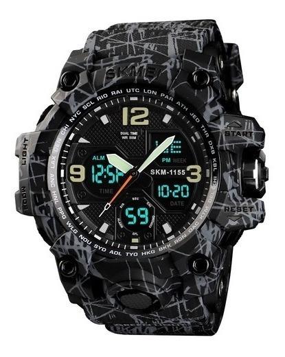 Relógio Masculino Skmei 1155 Militar Digital Analógico