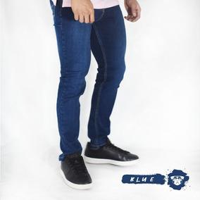 Pantalones Hombre Jeans Semipitillo Strech - Moda Urbana