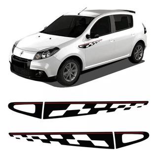 Adesivo Faixa Renault Sandero Gt Line 2013 Modelo Original