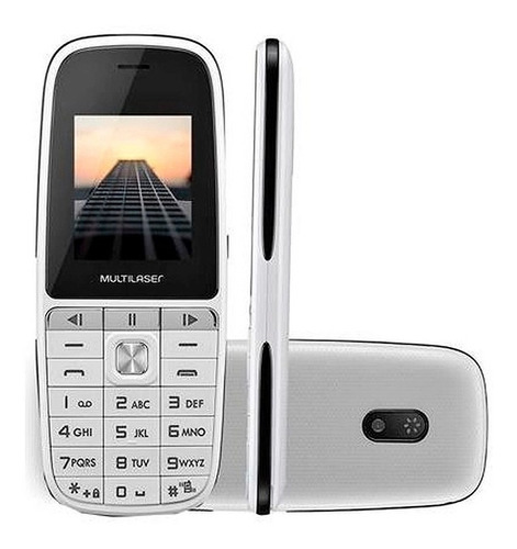 Celular Multilaser Up Play Dual Chip Com Bluetooth Branco