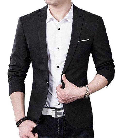 Blazer Slim Fit Luxo Casual Importado Masculino Formal Fino