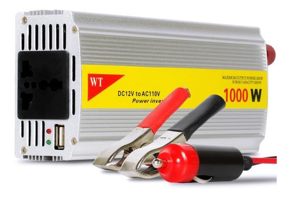 Inversor Tensão 1000w 12v Para 110v Transformador Conversor