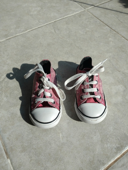 Zapatillas Converse All Star Animal Print Niña Talle 23
