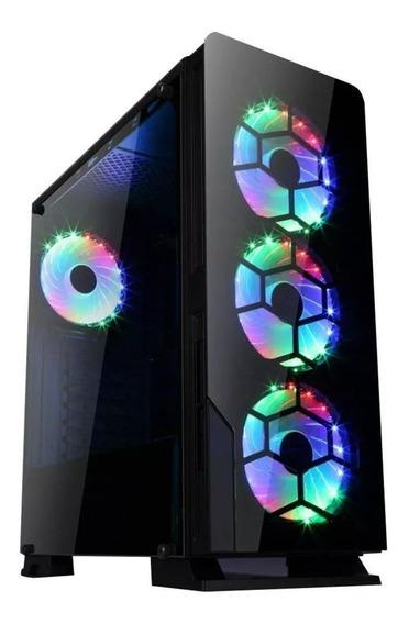 Pc Cpu Gamer Amd Ryzen 5 2600 + 16gb + Rx590 8gb + Ssd M.2 + 1tb + B450m