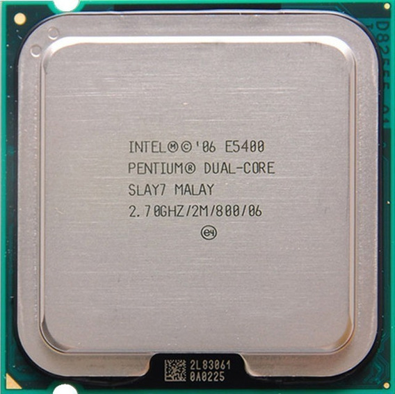 Processador Intel Pentium Dual Core E5400 2.70ghz Lga775