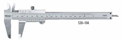 Imagen 1 de 2 de Calibre Con Tornillo 150mm - 6 Pulgadas Mitutoyo 530-104