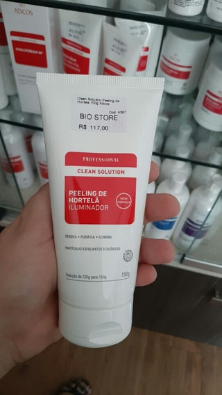 Esfoliante Peeling De Hortelã Clean Solution Adcos