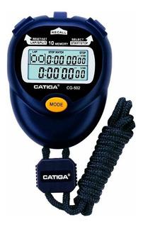 Cronometro Digital 10 Memorias Lap Portatil Deportes Gimnas