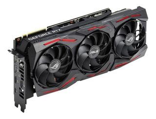 Tarjeta gráfica Nvidia Asus GeForce RTX 20 Series RTX 2070 SUPER ROG-STRIX-RTX2070S-A8G-GAMING Advanced Edition 8GB