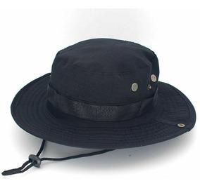 Sombrero Militar Táctico Boonie Hat Negro