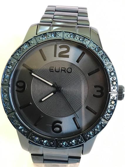 Relógio Euro Feminino Azul Eu2036ylr/4a
