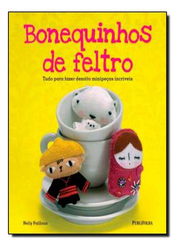 Livro Bonequinhos De Feltro