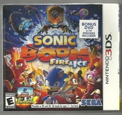 Sonic Boom Fire & Ice