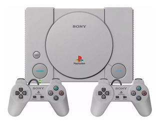 Play Station Classic Ps 1 Con 2 Controles Y Juego Originales