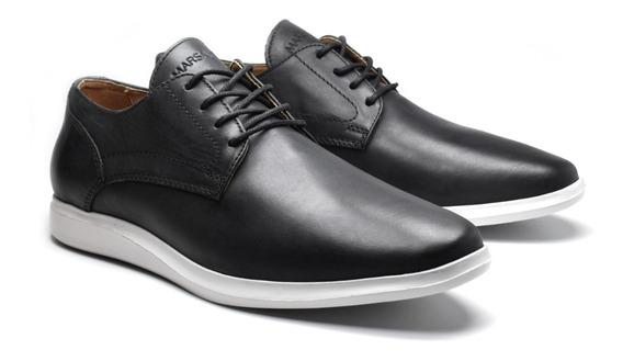 Zapatos Hombre Cuero Marsanto Loren Negro. Store Oficial