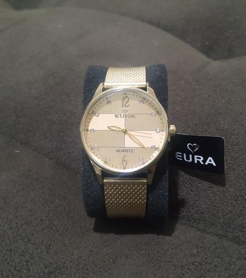 Relógio Feminino Dourado - Promoção