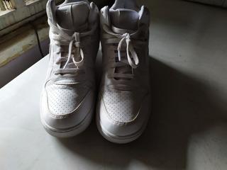 Zapatillas Botitas Nike Court Borough Mid Hombre Urbanas
