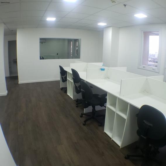 Locação Metro Barra Funda - Sala Comercial Nova, Semi-mobiliada Com 4 Vagas, Melhor Prédio Da Região! - Sa00242 - 68136607